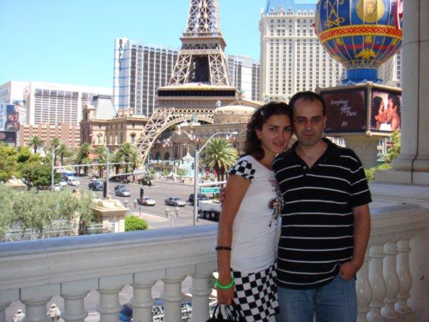 Мы с мужем в августе 2008, через несколько недель после моего приезда